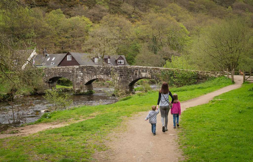 Castle Drogo, Teign Gorge & Fingle bridge