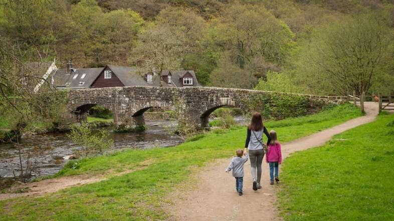Castle Drogo, Teign Gorge & Fingle bridge