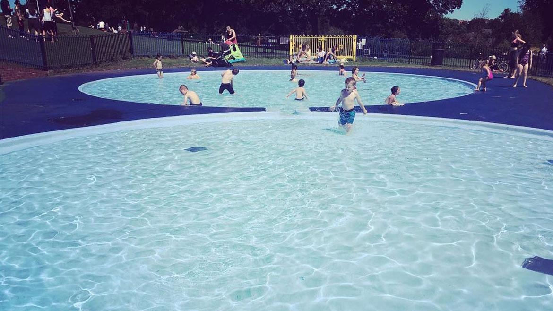 Heavitree Pleasure Grounds paddling pools