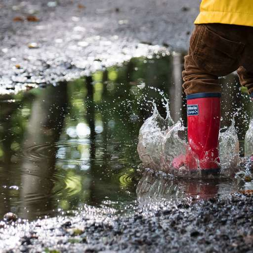 Puddle jumping walks
