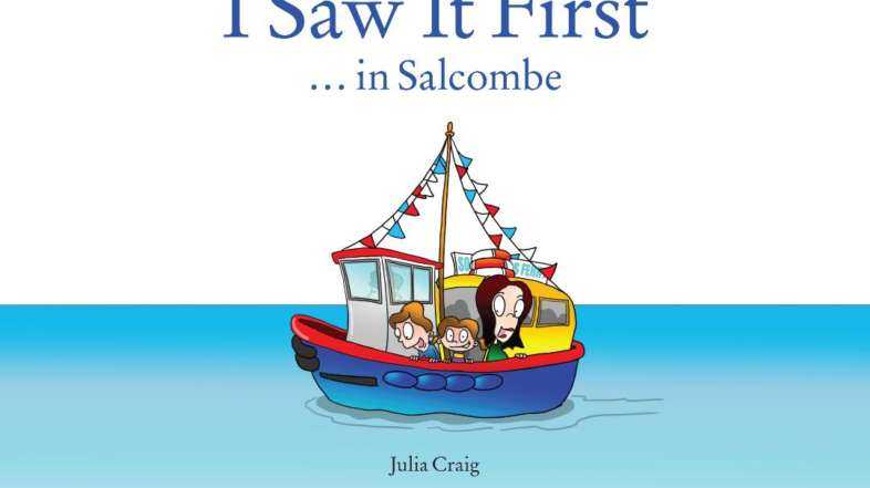 I Saw it First…in Salcombe (children's book)