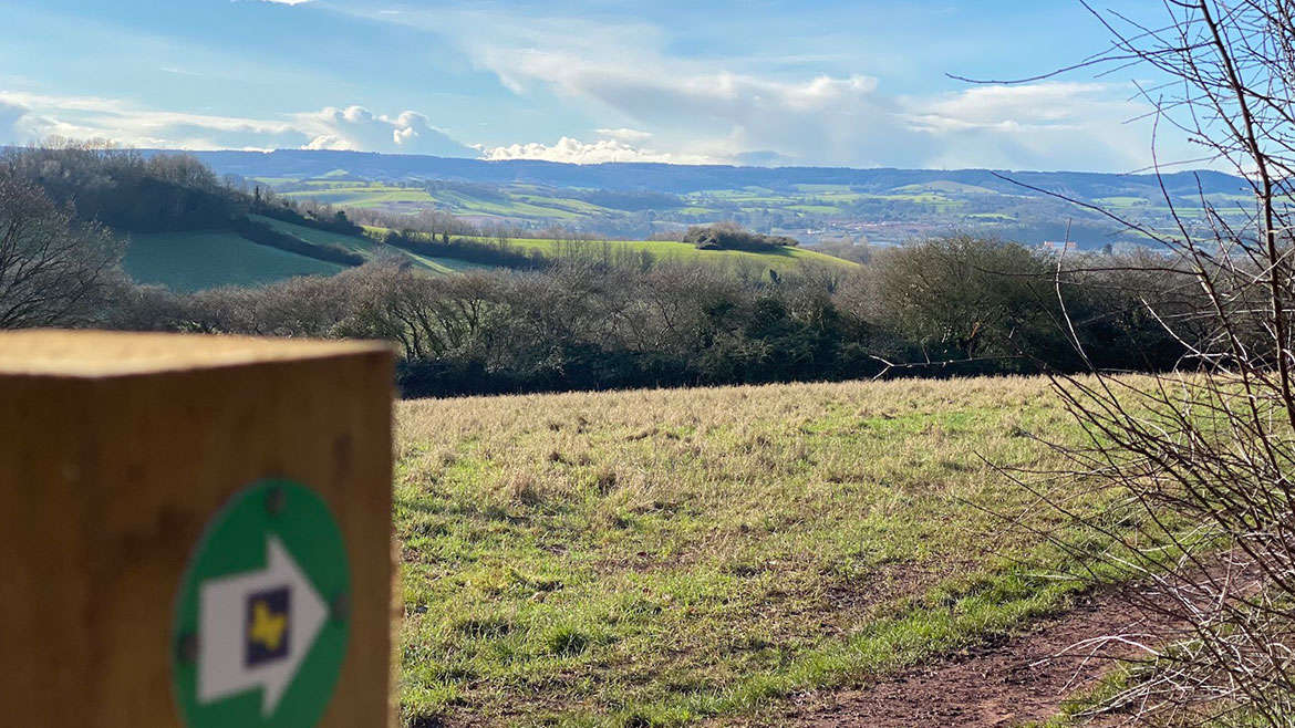Ludwell Valley Park Walk, Exeter